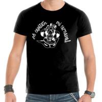 Camiseta Diseño Oh capitán negro - Hombre