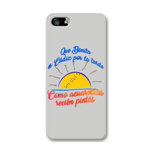 Funda de iPhone (todos los modelos) con diseño Que bonita es Cádiz por la tarde
