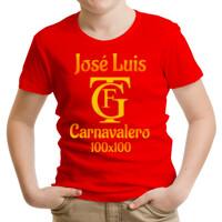 Camiseta Carnavalera 100x100 PERSONALIZABLE (Mujer)
