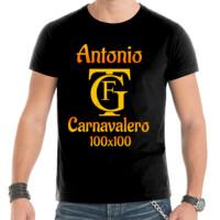 Camiseta Carnavalero 100x100 PERSONALIZABLE (Hombre)