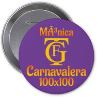 Chapa Carnavalera 100x100 PERSONALIZABLE