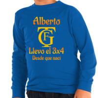 Camiseta manga larga Logo Falla PERSONALIZABLE (Niños)