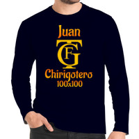 Camiseta manga larga Carnavalero 100x100 PERSONALIZABLE (Hombre)