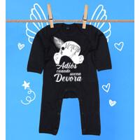 Pijama Adiós cuando suena Devora en Blanco - Bebé