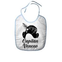 Babero Frase Capitán Veneno