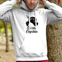 Sudadera Eterno Capitán con capucha - Hombre