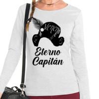 Camiseta Eterno Capitán Manga Larga - Mujer