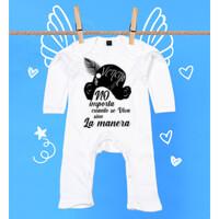 Pijama No importa cuanto se viva sino la manera - Bebé