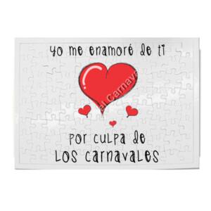 Puzzle de Yo me enamore de ti por culpa de los carnavales