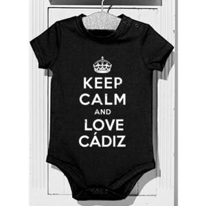 Body diseño Keep calm and love Cádiz