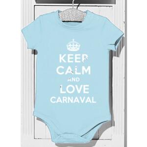 Body diseño Keep calm and love Carnaval