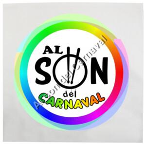 Cojín con diseño de Al son del carnaval