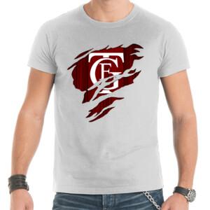 Camiseta de hombre con el Logo GTF Saliendo del Pecho