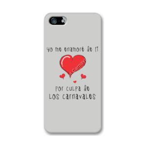 Funda de iPhone (todos los modelos) diseño Yo me enamore de ti