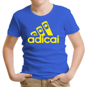 Camiseta manga corta con logo Adicai color Amarillo Camiseta manga corta con logo Adicai color Amarillo, con colores a elegir