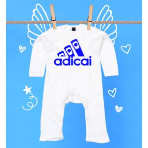 Pijama de bebe con logo Adicai color Azul