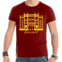 Camiseta Diseño Teatro Falla Creo en ti amarillo