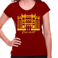 Camiseta Diseño Teatro Falla Creo en ti amarillo - Mujer