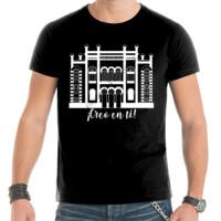 Camiseta Diseño Teatro Falla Creo en ti Blanco - Hombre