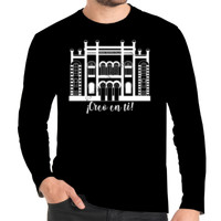 Camiseta manga larga Diseño Teatro Falla Creo en ti Blanco - Hombre