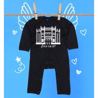 Pijama Bebé Diseño Teatro Falla Creo en ti blanco