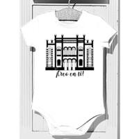 Body Bebé Diseño Teatro Falla Creo en ti negro