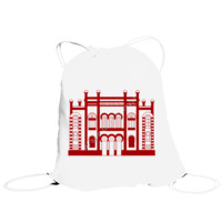 Bolso de saco con Diseño Teatro Falla rojo